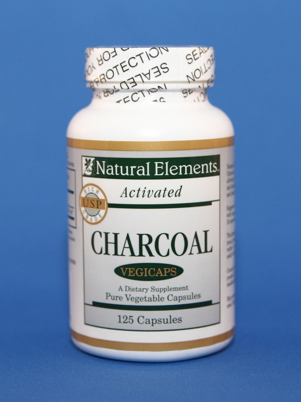 Vegicaps Activated Charcoal 125 capsules