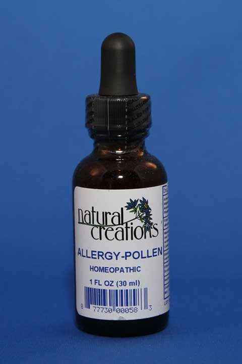 Allergy- Pollen 1oz - Natural Creations - Click Image to Close