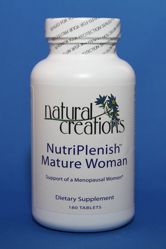 NutriPlenish Mature Women 180 Tablets - Natural Creations