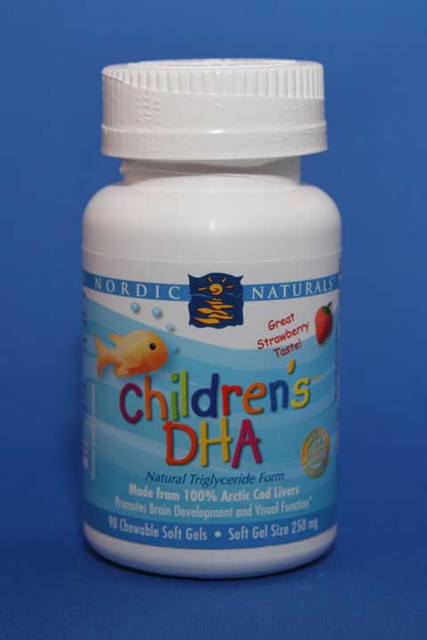 Children's DHA Chewable 250mg Soft Gels - Nordic Naturals